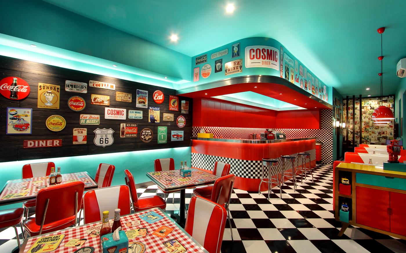Bar Ideas For Kitchen Sadhachen Cosmic Diner